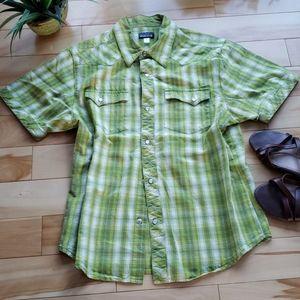 Hurley women's plaid shirt